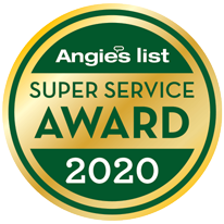 Angies List Super Serivce Award 2020